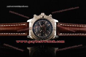 Breitling Chronomat B01 AB011012 Gray Dial Steel Watch