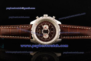 Breitling Bentley Supersports A2636412 Brown Dial Steel Watch