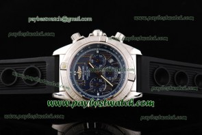 Breitling Chronomat B01 AB011012 Blue Dial Steel Watch