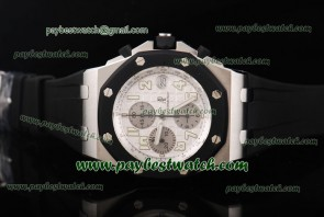 Audemars Piguet Royal Oak Offshore 25940SK.OO.D002CA.02A Black Rubber Steel Watch Sec@12