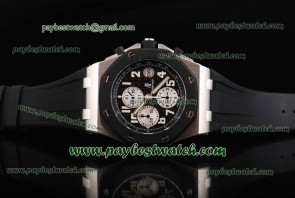 Audemars Piguet Royal Oak Offshore 25940SK.OO.D002CA.01 Black Rubber Steel Watch Sec@12