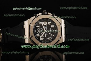 Audemars Piguet Royal Oak Offshore 26020ST.OO.D101CR.01 Black Rubber Steel Watch