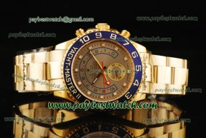 Rolex Yacht-Master II 116688 Brown Dial Yellow Gold Watch