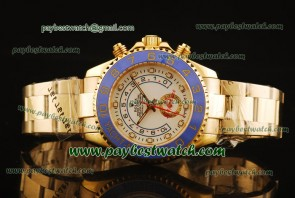 Rolex Yacht-Master II 116688 Blue Ceramic Bezel Gold Watch