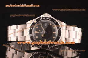 Rolex Submariner Vintage Omani 1665  Black Dial Steel Watch