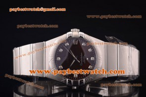 Omega Constellation 38mm 123.10.38.21.02.007 Steel Brown Dial Watch