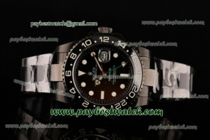 Rolex Pro-Hunter GMT-Master 116710 Black Dial Full PVD Watch