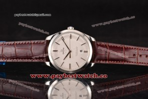 Omega De Ville Tresor Master Co-Axial 432.53.40.21.02.004P White Dial Steel Watch