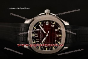 Patek Philippe Aquanaut 5167A-002 Brown Dial Black Rubber Steel Watch (BP)
