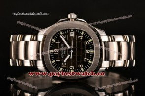 Patek Philippe Aquanaut 5167/1A-001 Black Dial Full Steel Watch (BP)