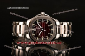 Patek Philippe Aquanaut 5167A-LL Brown Dial Full Steel Watch (BP)