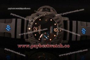 Panerai Luminor Submersible 1950 Carbotech 3 Days Automatic PAM 616 Superlumed Dial Real Carbon Fiber Watch (ZF)