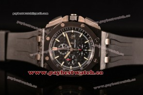 Audemars Piguet Royal Oak Offshore Chrono 26400au.oo.a002ca.01 Black Dial Carbon Fiber Watch 1:1 Original (Z)