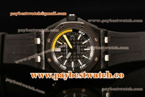 Audemars Piguet Royal Oak Offshore Diver 15706AU.00.A002CA.01 Black Dial Carbon Fiber Watch 1:1 Original (JF)