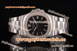 Patek Philippe Nautilus 5711/571A Black Dial Full Steel Watch (V6F)