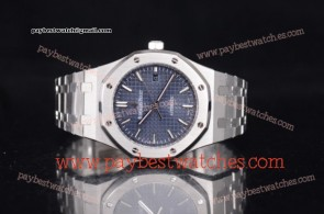 Audemars Piguet Royal Oak 15202ST.OO.1240ST.01 Blue Dial Full Steel Watch
