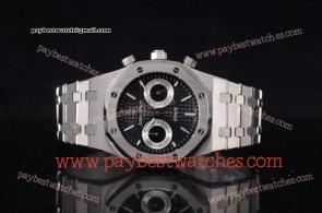 Audemars Piguet Royal Oak 41MM 15400ST.OO.1220ST.01C Black Dial Full Steel Watch (EF)