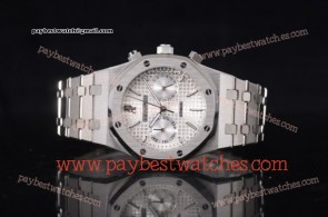 Audemars Piguet Royal Oak 41MM 15400st.oo.1220st.02NC Silver Dial Full Steel Watch (EF)