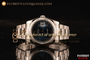 Rolex Datejust 116200 pblur Blue Dial Steel Bracelet Steel Watch