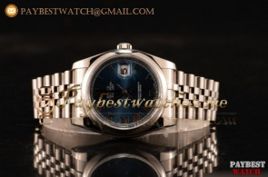 Rolex Datejust 116200 jblurp Blue Dial Steel Bracelet Steel Watch